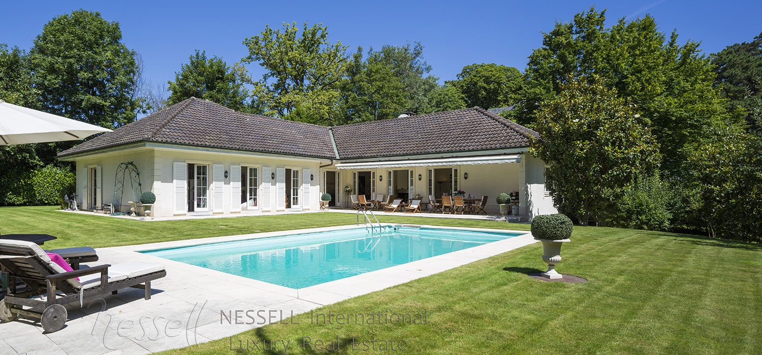 Agence immobili re de prestige gen ve luxury real estate - Incroyable maison monolithique en suisse ...