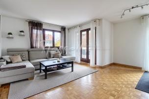 Confortable et lumineux appartement à Corsier-Port